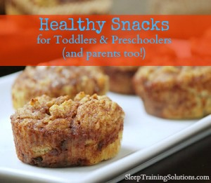 healthy snacks for toddlers and preschoolers