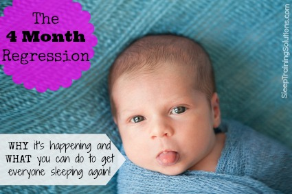 how to make a 4 month old baby sleep