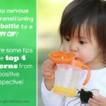 Are you nervous about transitioning from a bottle to a sippy cup?