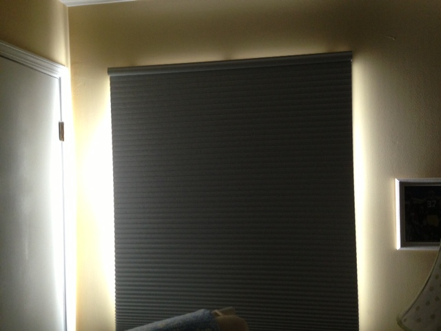 light blocking blinds. Our OLD Blackout Shade Light Blocking Blinds L